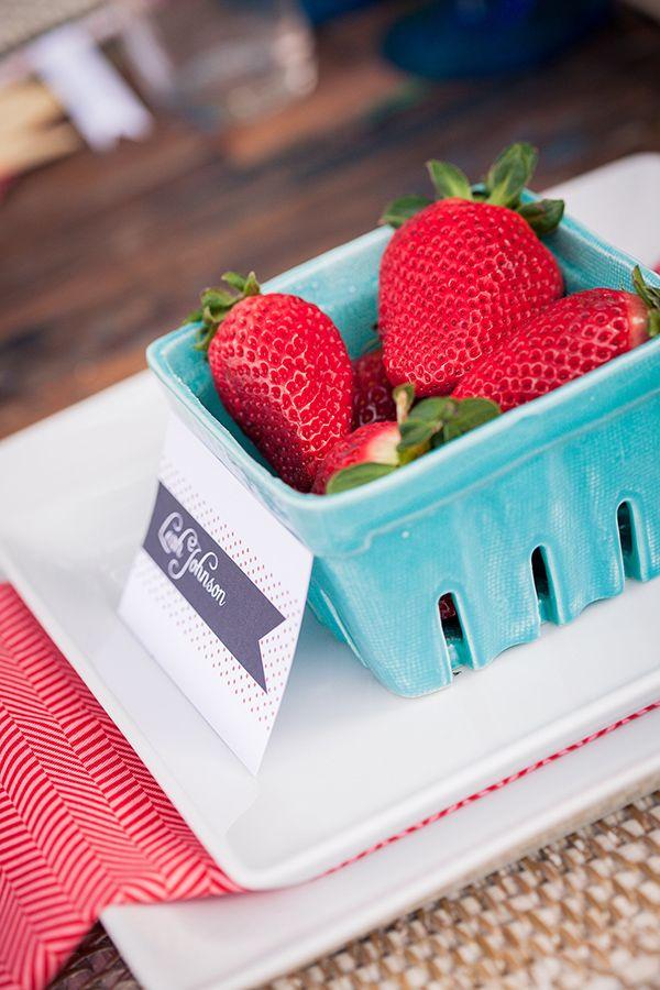 fraises mariage pique nique