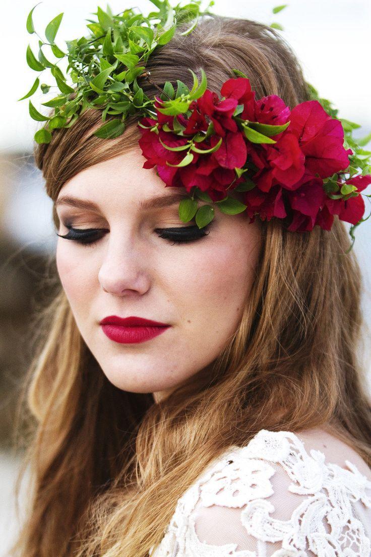 make up mariee fleurs