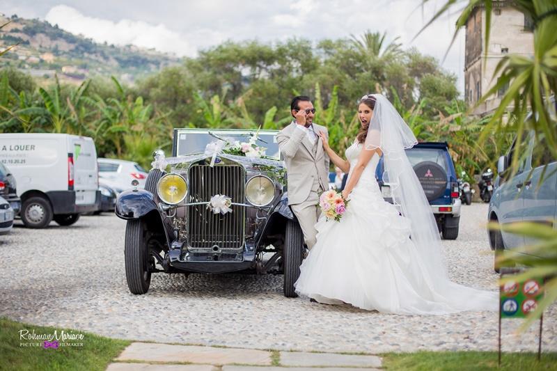 Le mariage vintage de Sophie et Fabien sous le soleil d'Italie
