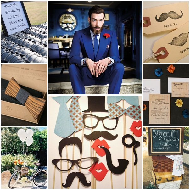 mariage style hipster