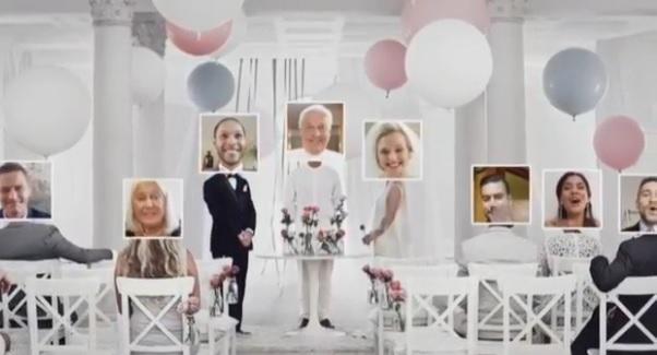 mariage virtuel