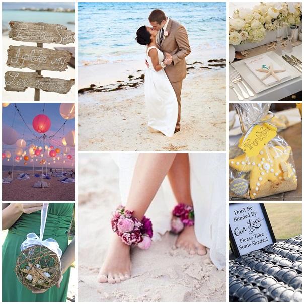 montage amour a la plage