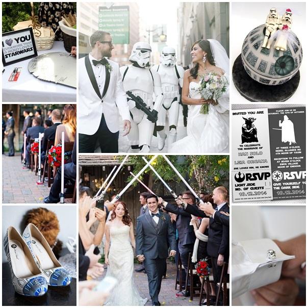 montage mariage theme star wars