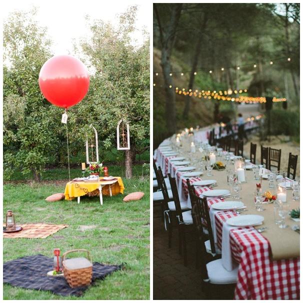 6 bonnes raisons d 39 organiser un pique nique pour son mariage - Organiser barbecue party ...