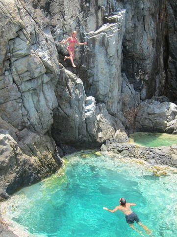 piscine naturelle saint barth