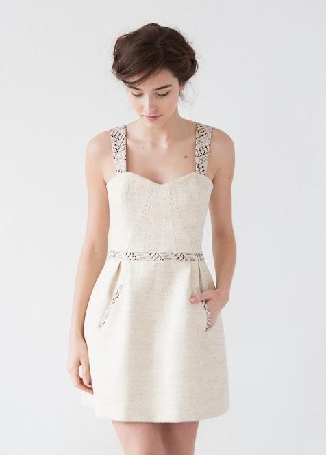 10 robes pour bruncher joliment apr s le mariage. Black Bedroom Furniture Sets. Home Design Ideas