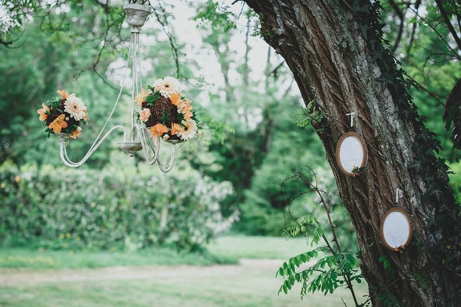 shooting inspiration decoration arbre de mariage