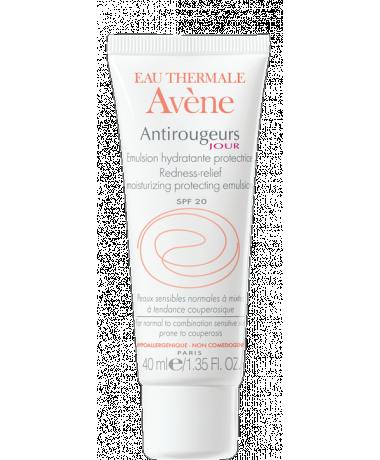 Grâce à son émulsion hydratante, l'eau thermale d'Avène apaise votre peau et favorise la microcirculation de votre visage. Appliquez la le matin, après avoir nettoyé votre peau en profondeur. Emulsion jour, antirougeurs, eau thermale Avène, 13,50 €