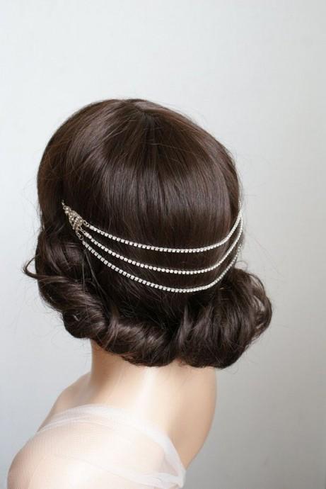 Bijoux de cheveux mariage Downton Abbey