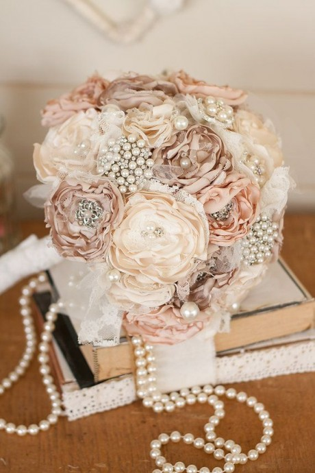Bouquet de la mariee mariage Downton Abbey