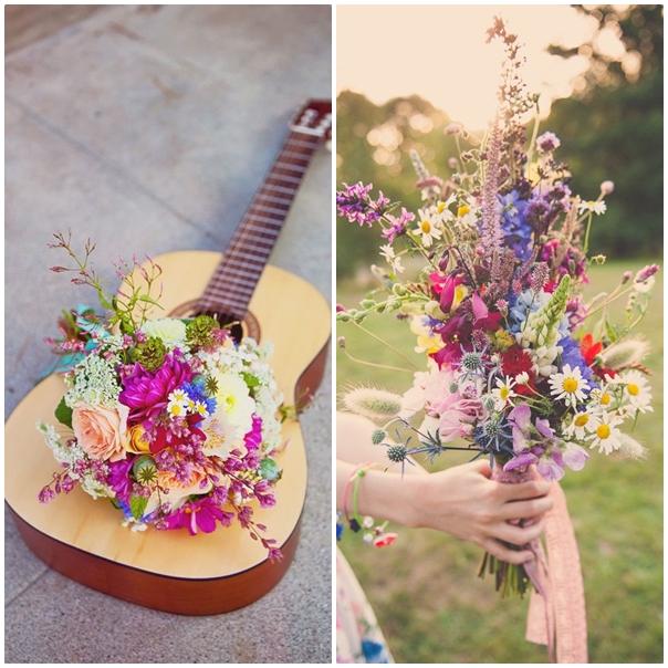 Bouquet de la mariee mariage Peace and Love