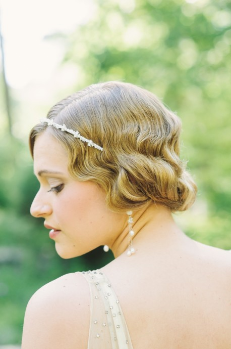 Coiffure mariage Downton Abbey