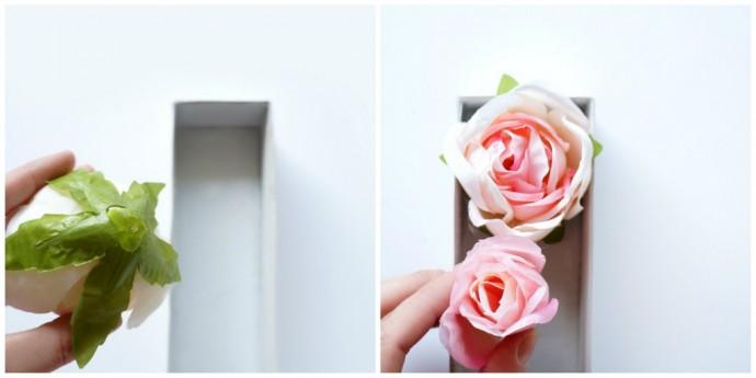 DIY lettre en fleur 5