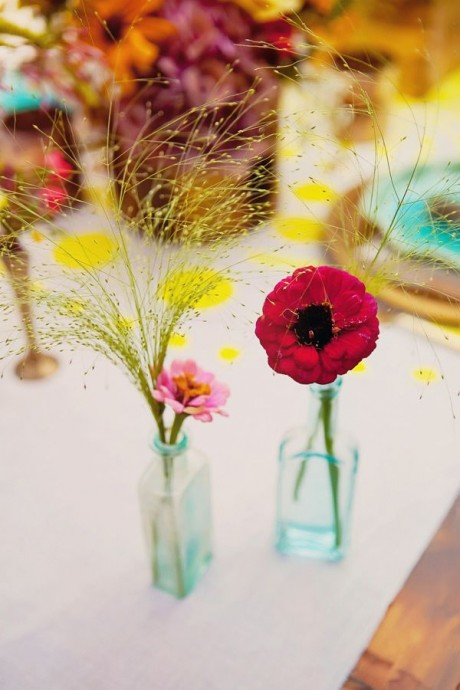 Fleurs 1 mariage Peace and Love