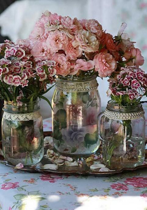 Fleurs decoration Downton Abbey