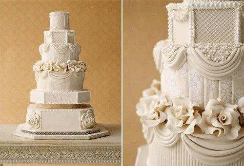 Downton Abbey wedding cake