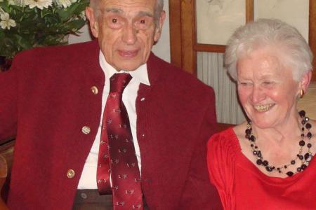 Jacqueline et Charles Francotte
