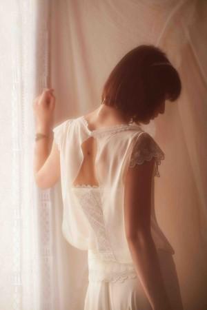 Robe de mari e s reen par les jolies filles collection for Jolies filles s habillent pour les mariages