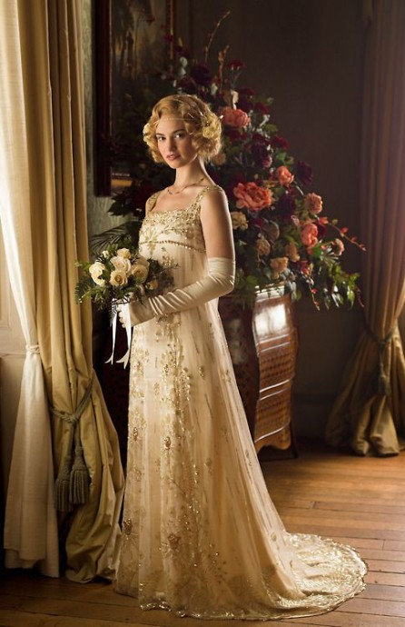 Mariee mariage Downton Abbey