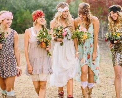 8 raisons de choisir une décoration «peace and love» pour mon mariage