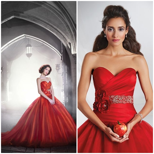 9 princesses disney qui inspirent le monde du mariage for Robes de mariage disney blanc neige