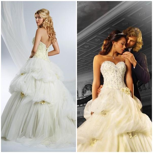 Robe de mariage la belle et la bete - Robe la belle et la bete adulte ...