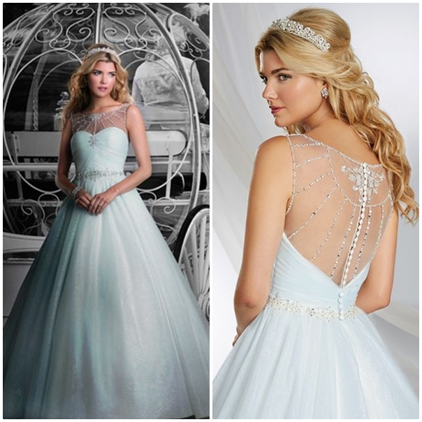 9 princesses disney qui inspirent le monde du mariage for Collection de robe de mariage disney