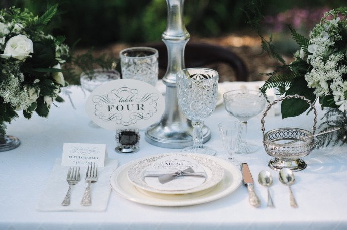 Table 2 mariage Downton Abbey