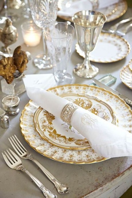 Table mariage Downton Abbey