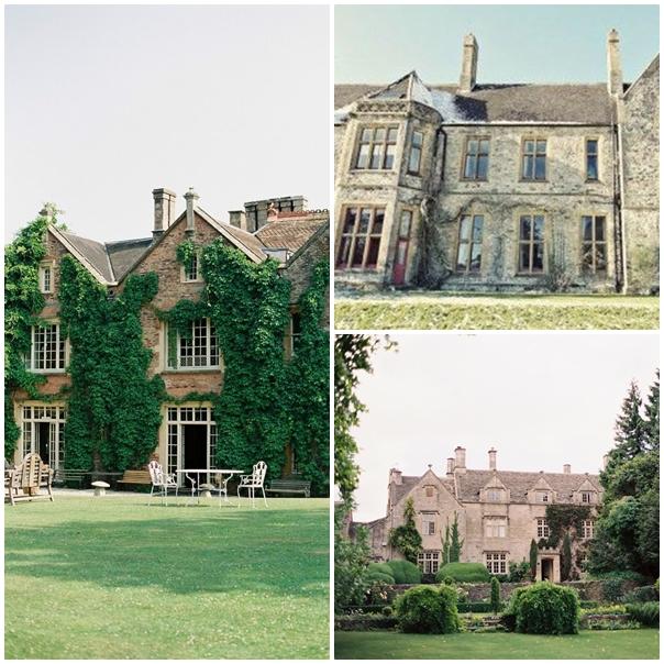 Vieille batisse montage mariage Downton Abbey