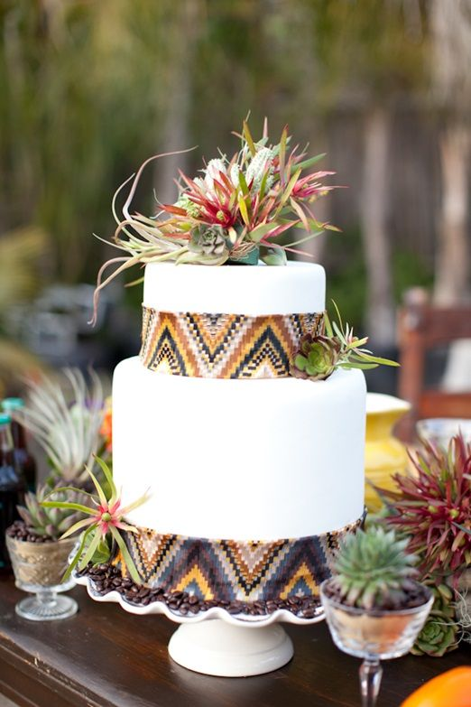 bohemian wedding cake designs 8 raisons de choisir une d 233 coration quot peace and quot pour 12072