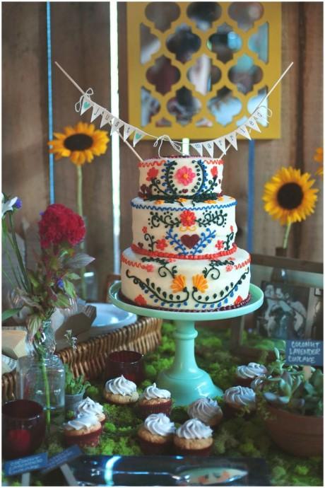 Wedding ckae 4  mariage Peace and Love