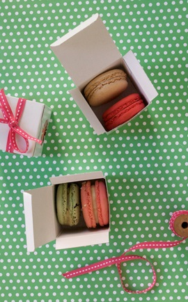 diy fabriquer des bo tes macarons so sweet pour les invit s. Black Bedroom Furniture Sets. Home Design Ideas