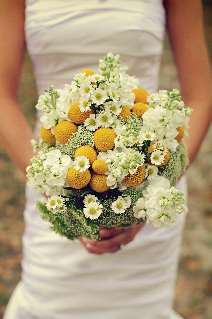 bouquet de mariee paquerettes