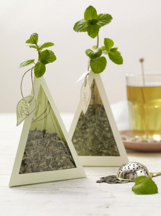 cadeau convives mariage vert 3