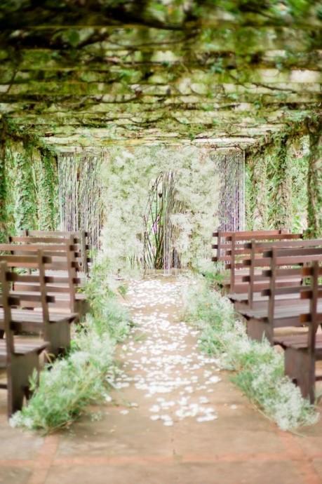 10 raisons de miser sur un mariage tout en vert page 2 for Exterieur nature