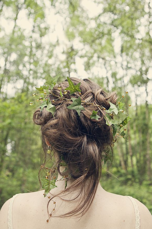 coiffure nature mariage
