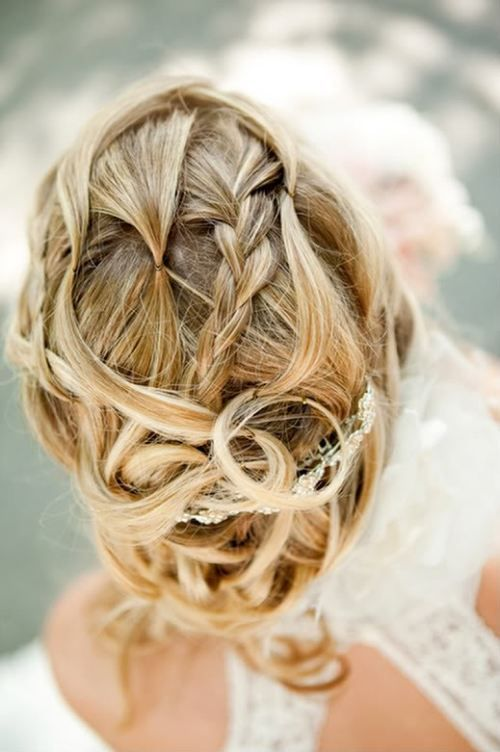 coupe cheveux tresses mariage