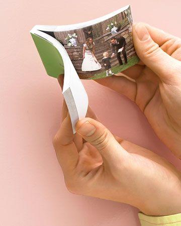 flip book mariage