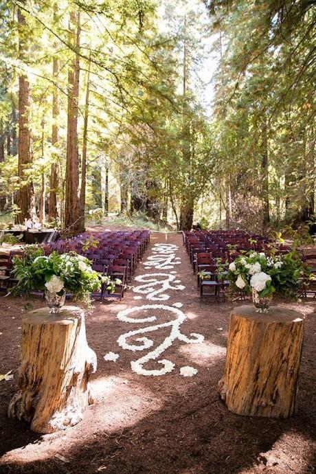 lieu de ceremonie mariage wood chic