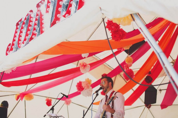 mariage ambiance de festival musique