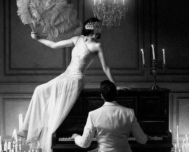 Mon mariage esprit «Art Déco»