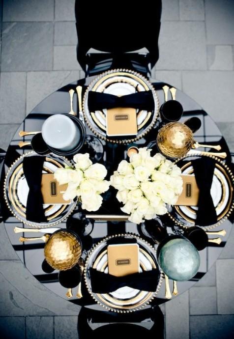 mariage dore et noir  (5)