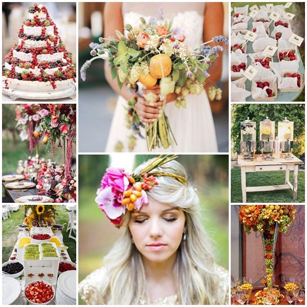 montage mariage fruite