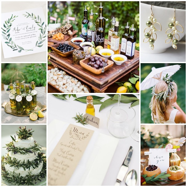 montage mariage olive