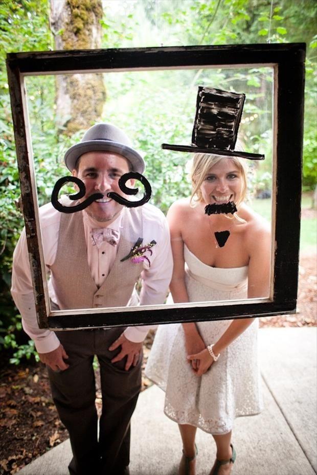 10 id es fun pour personnaliser ses photos de mariage - Photo de mariage ...