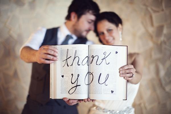 photo mariage remerciements