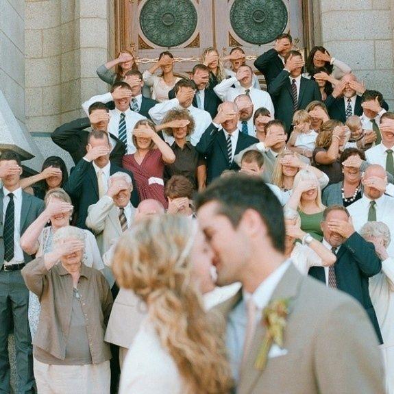 photo rigolote mariage église