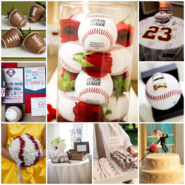 planche theme mariage sportif