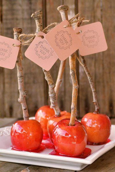 pomme d'amour cadeaux invites
